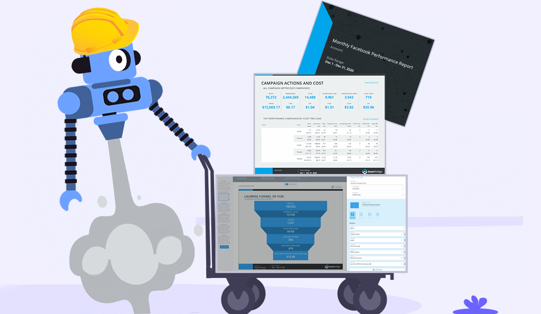 Fast & Automated Reporting Tool For Auto Agencies: The BuyerBridge Report Builder